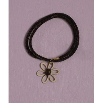 Bracelet, fleur de café