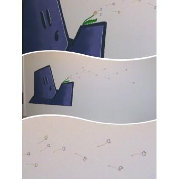 Fresque sur le thème de la toile Pfffffff