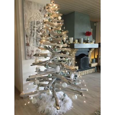 Sapin de Noël en bois flotté   Celyvart.com