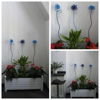 Tuteur floral décoratif