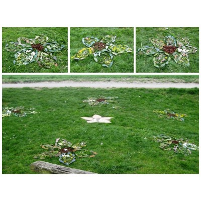 Land Art au printemps