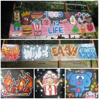 GRAFF - Initiation au monde du graffiti