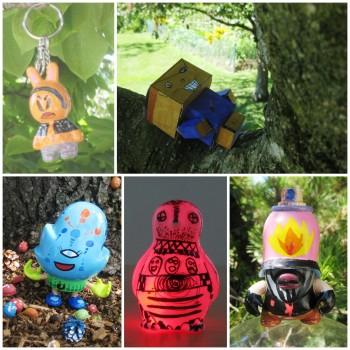 CUSTOM TOYS - Customisation designer toys, paper toys