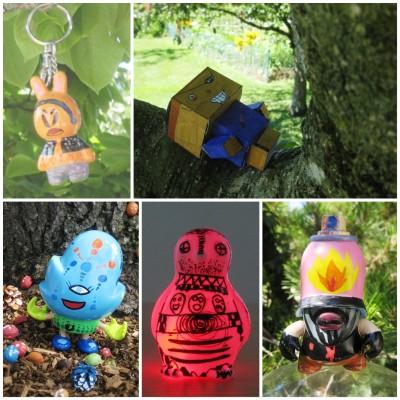 CUSTOM TOYS - Customisation designer toys, paper toys...